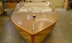 "Penn Yan Sea-Goer trailer boat s/n WSG4960 Length 14', Beam 58"", 4' fore deck, rated for 22hp, The plastic windshield is not orgional. The hull os sound, no broken riba, no rot. All orgional hardware except 2 missing seat braces. Ready for restoration."