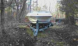 This is a great little 17' Formula boat. The trailer is in attractive shape needing very little. tow safe. The boat need a good cleaning and also needs a new rubber coupler attached to back of flywheel. the old 1 iks already out. this part runs about 60$.