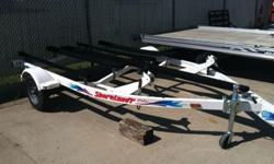 2002 Shoreland'r Double Personal Watercraft Trailer. Great condition! Call today