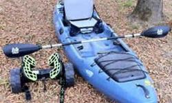I have my 2012 Jackson Coosa Elite for sale, I bought it this spring and have only used it 2 times, but I now have a child on the way and now have to sell it, I have around $1400 in the kayak, I have the coosa which alone was $1200 after taxes I'll even
