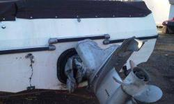 1984 kayot deck boat. interior starting to crack. typical boat stuff. motor and out drive are solid. you can get that in writing. not starting it til spring as it cost to much to winterise again. price is firm!!!!!!!!!. don't miss out. I have no use for