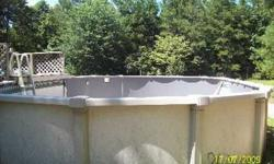 i have a huge above ground pool for sale its fifteen feet wide and 35 ft long its oval shape it has a 11ftx13ft deck, chemicals, pump, hoses, and a cleaning agent, slide, comes with gate, etc. has a little table. it holds 22 thousand gallons of water. it