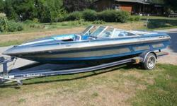LOOKING TO SELL OR TRADE A 20FT CONCORD OPEN BOW OUTBOARD SKI BOAT AND TRAILER, IF YOU KNOW ANYTHING ABOUT CONCORD BOATS THEY ARE THE TOP OF THE LINE AS FAR AS BEAUTY AND QUALITY, HAS HYDRALIC STEERING, MERCURY CONTROLS, THE INTERIOR NEEDS REAPOLSTERED
