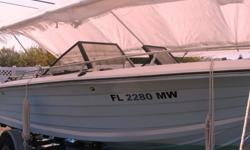 1980 Chaparral 19' bow-rider. Completely rebuilt 2 years ago. New
