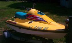 Looking to sell Jetski & trailer. Willling to sell jetski seperately.
