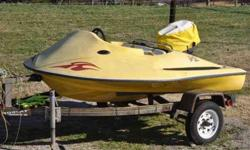 Sea Skate for sale. New interior, new boat cover. 25 horsepower motor. $1400.00 OBO. Please call or text (502) 428-6850Listing originally posted at http