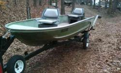 This is a High-quality built Duracraft fifteen feet LONG flatbottom and 42inS WIDE AT THE BOTTOM OF THE BOAT at the back and it has 20inS DEEP sides........................ THIS BOAT IS READY TO GO NOW !!!................................IT has a NEW