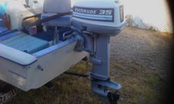 1982 14 feet fiberglass bass boat 35hp evinrude very clean in and out side console trolling engine two fish finders call 520 312 2190Listing originally posted at http