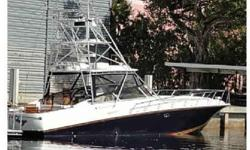 Classic meets new age in this spectacular Fountain. Using Reggie?s legendary knowledge with and the best north Carolina custom sportfish workers along with designers like Ralph Lauren for the interior; it was possible for this owner to create the best of