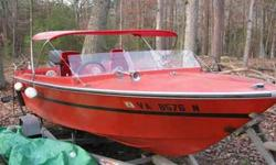 This boat has a rebuilt motor from top to bottom. Can take to the river to see her run. Only 10 min. away from boat ramp. All lights work and has new sticker. Comes with 1987 Long Trailer boat trailer that has one new tire. Over $3000 in motor alone. Have