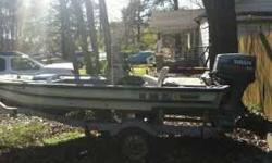 MUST SEE!!! Hell of a deal...It a 15ft Magnum Tri-hull fishing boat with an 85hp Yamaha Outboard. Engine has recently been tuned up. New plugs, water pump impeler, carbs cleaned, new bottem end lube. Runs like a top! On calm water this boat will do 55