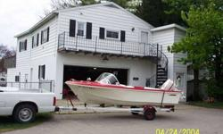 Nice Sea King 14 feet runabout, 1960 Johnson 40. I have owned it for eleven years and need to thin out my fleet. Asking $1500.Call Greg after 4pm 765 643-3246Listing originally posted at http