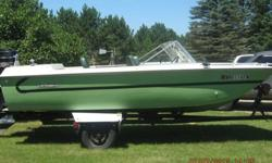 1970 Starcraft 17 ft 135 hp outboard Fiberglass boat. New carpet and seats. Lower unit and water pump replaced in 2012. New wiring, lights, and tires on trailer in 2012. Trailer has lifetime license. Runs excellent, just bought a new boat. $1500. Any