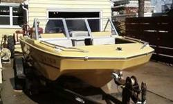 1975 Tidecraft open bow boat and trailor. 50 HP Mercury engine. All in all it's in real good shape. Call 1-319-277-2911 or email [email removed]