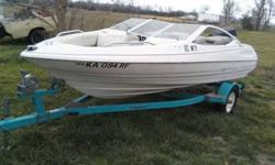 I have a 1993 Bayliner for sale,it runs great but the interior is rough and I need to sell quick $1500 obo,call or text 620-228-3235Listing originally posted at http