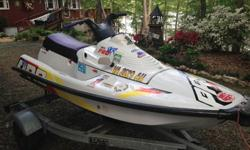 1993 Yamaha Pro VXR jet ski. 700cc Great condition. Great ride. Fun, quick. Inexpensive way to get on the water. Comes with trailer. Have titles to both. $1500.reason for selling....got a new one.