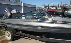 """1985 Dyna Trak Hull Length 17' 11""""Call me at (913) 461-1035 if interested. If you want to see more pictures I can email you someI have the title. Do not have keys to the boat. Do not know how well it runs. It's a fiberglass hull. Do not know how many"""