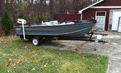 Starcraft boat with 50 horsepower Johnson motor, minnkota trolling engine. Call 586-453-4232 for more informationListing originally posted at http