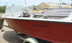14 ft 1975 StarCraft with a 1972 50 h.p. Johnson motor. For more info on this boat contact us at (click to respond) or at 605-940-1478Listing originally posted at http