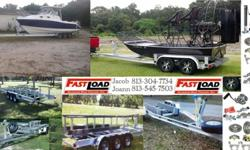 This is a family owned business and we were one of the first to build aluminum boat trailers.FASTLOAD BOAT TRAILERS started in 1983 and inc 1987 we have been around for 30 years building the Best aluminum boat trailers there is to offer.We can build any