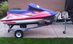 For sale 1997 Kawasaki jet ski 750 I nice condition , rebuilt carburetors ,new sparkplugs , excellent trailer , new tires I have spare tire and cover to go with it check images or call me for info IT IS MUST SE ready to go no problems at all I have no