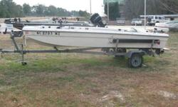 For sale fiberglass boat motor and trailer 35 hp Johnson $1800 Runs great, very stable. Clean title. Cash only, 910-582-5943 or 910-331-9642 Prefer phone calls between 9