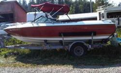1978 Reinell nineteen on trailer and ready to go at $2000 (will negotiate within reason) â€Â¢ Volvo Penta 4 cylinder 140a dual carb with Volvo280 outdrive â€Â¢ Seats and interior in ATTRACTIVE condition â€Â¢ Matching bimini top â€Â¢