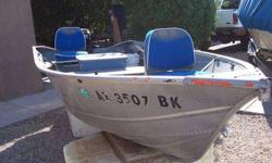Good Runnng 15HP Mercury Engine on boat with Fish Finder and Lot's of Accessories! No Trailer $1,800.00 OBO Call 623-435-0939