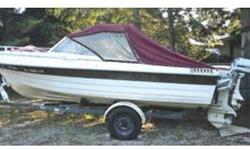 1984 THOMPSON 17', 85HP Johnson, 7.5HP Kicker, full covers, Calkins trailer with new tires. Fish or ski. $1,800 OBO 208-265-2409 .See item listed at http