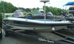 1986 Hydro Sport 17' boat WITHOUT a motor, does come with a MinnKota 40 lb thrust trolling motor,sitting on a single axle Hydro Sport trailer. For more information call us at 270.343.4829