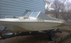 For sale 1973, glasstron trihull boat. It comes with a 85 hp mercury motor. We will include 4 life jackets, a tube & rope for the tube. Located in cedar falls $1900