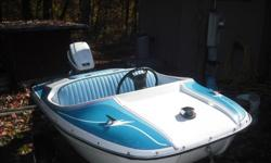 we have a very rare lil 1975 wooster hellion boat with 15 horse evinrude motor, with trailer, we put new steering cable on it, with clear title, the pic tells pretty much everything else if interested please call Bill after 6 pm at 1-606-871-9902 for more