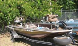 ?1978 holiday bass boat, been sitting a little while, need a little work but can can be used with out doing much, looking to trade for a Truck, Suv,(jeep, bronco, exc....)prefer it to run but if it needs body or paint I can handle that, or will consider