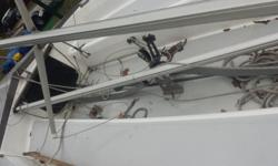 Catalina Capri 14.4 daysailer with Sail and Graphics Package B. This boat has only been sailed five times. 1998Mercury 3.3 outboard engine and magic tilt Trailer. swing keel. Draft .02This sail boat is complete and in very good condition. Also a single