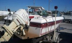 1989 Mach 1 Spoiler Suzuki 140 Boat Motor and Trailer $1950 Come see it in person at Pelican Marine Center Inc. 13323 US Hwy 19, Hudson, FL 34667 Or call 727-863-5409 with any questions.