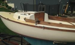 ;;';.1972 Cape Dory Typhoon sailboat with custom trailer. You don't find many of these for sale. Boat has only had one owner. Comes with 2006 Honda 2hp 4 stroke outboard motor, roller firing, main, extra jib, storm jib, spinnaker, danforth anchor and some