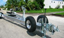 New 2013 All American Custom Aluminum Boat Trailers from 15 to 50' 21,000lb. GVWR, all stainless hardware,torsion axle suspensionfloat on bunks,guide ons,submersible leds,Kodiak or Deemax Disc.surge or electric/hydraulic. etc.