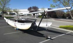 Semi Annual BIG BOY TOYS Online Auction - Hobie 16' Catamaran W/ 26' Mast w/ Sail On TrailerAlso selling Creek Company Kick Boat, Inflatable Rafts, Boat Motors, Boat Parts & MORE!DATE/TIME