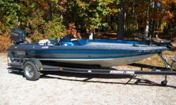 1995 Stratos 278V - (17 Ft. 9in.) Boat has been garage kept, well maintained, and is in exceptional condition.Gel coat is PERFECT.Boat is setup for fishing and includes Humminbird 898c fish finder with GPS, Motorguide Pro-Series 75 trolling motor, CMC