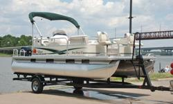 ..........SUPER MINT 2011 Sun Tracker 20 Party Barge edition pontoon boat. This one owner boat is in excellent condition and shows to have been hardly used. Boat has been kept under covered storage.ONLY 8 HRS ! ! !EXCEPTIONAL CONDITION ! ! !STILL UNDER