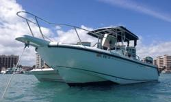 ,,,,In great condition! Unsinkable haul. Twin Mercury 225 Optimax Motors have 1200 hours. Engines are flushed after every use! Has no trailer, it is stored at a dry dock. Just had its 100 hour service. Has all new upholstery. On the boat their is a live