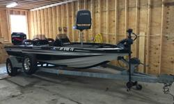 Mercury 200 EFI motor compression tested 110-115# on all 6.Minn Kota Maxxum trolling motor upgraded 84# thrustLowrance Bluewater ProHummingbird Matrix with GPS base, display head not includedChampion Special Edition Dual Pro charger works great. Champion