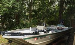 I'm looking to sell my 2000 fisher 16ft aluminum side console fast!!. The engine has just been serviced this past month which included new water pump, bilge pump, stater solenoid, spark plugs, lower gear oil and power trim fluid. Also, I had a compression
