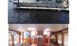 BOAT SHOW SPECIAL ONLY, 15% PRICE REDUCTION on a 2000 60' Hampton Yacht...Priced at $229,000, less 15%. ONLY $194,650!Appraised at $493K! This beauty boasts four state rooms, three bathrooms, MAN engines, cruises at 20+ knots! Plus, if you purchase the