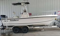 RICE REDUCED TO SALE IMMEDIATELY!! BLUE BOOK IS OVER 11 K FOR THIS BOAT 2000 Mako 19.5 Sportsfisherman w/ Mercury 150 hp Engine. In great condition!! Gps, fishfinder, Marine Radio w/deep-sea antenna. Fm/am cd Radio , live well, trim sets, Night fishing