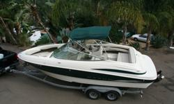 ,,Maxum 2300SR7.4 Litre 454ci V8 Mercury MerCruiserThis boat is being offered from a private seller in San Diego, CA USA.Title - Clean Hours ? Less than 6 Hours on completely new powerMotor ? 7.4 Litre MPITrailer ? Dual axel galvanized trailer with new