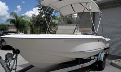 Here is your chance to own this 2000 Scout 185 sport fish boat. This boat is a 18' center console boat that is powered by a 130hp yamaha outboard. This boat come with a galvanized magic trail trailer shown in the pictures and also has a stainless steel