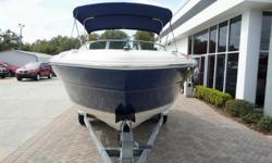 Very Clean 2000 Sea Ray 210 Signature only 60 Hours. This is a very popular bow rider that has been kept in an enclosed building and is very well maintained. Serviced and ready for next owner! Comes with Full snap around cover bimini top stereo and tandem