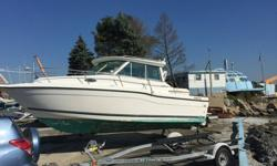 2000 Seaswirl 2600 Sport CabinThis Sea swirl Has the sport cabin that makes a cool morning nice and a wet day dry. It is also referred to as an Alaska cabin or pilot house The trhee sided full glass enclosure minimizes canvas needed and keeps the