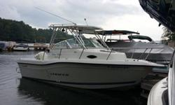 Currently I have this boat in my slip at Lake Anna. I am the original owner of this boat and due to work commitments, this boat has low hours. If you looking for a great fishing or recreation boat this is the boat for you. This boat is equipped with an